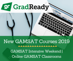 GAMSAT New Courses 2019 live online classrooms